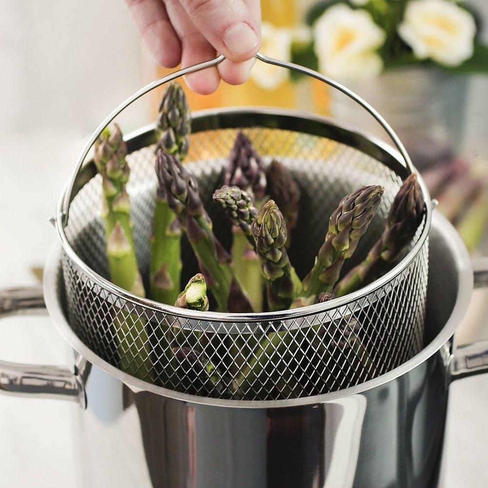 Garnek do gotowania szparagów SSW
