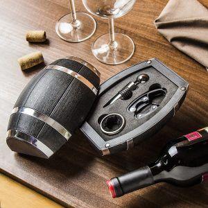 Zestaw akcesoriów do wina BECZKA