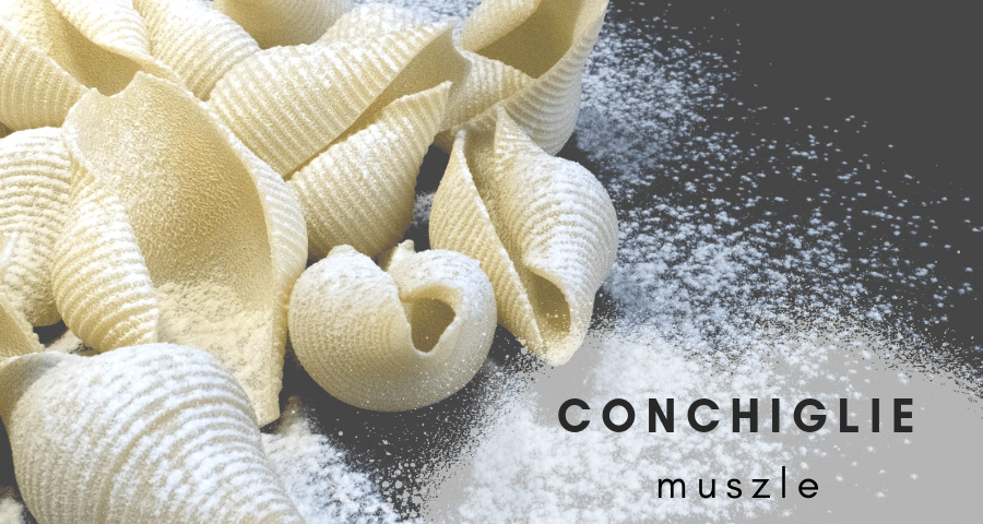 Makaron Conchigliette - muszle