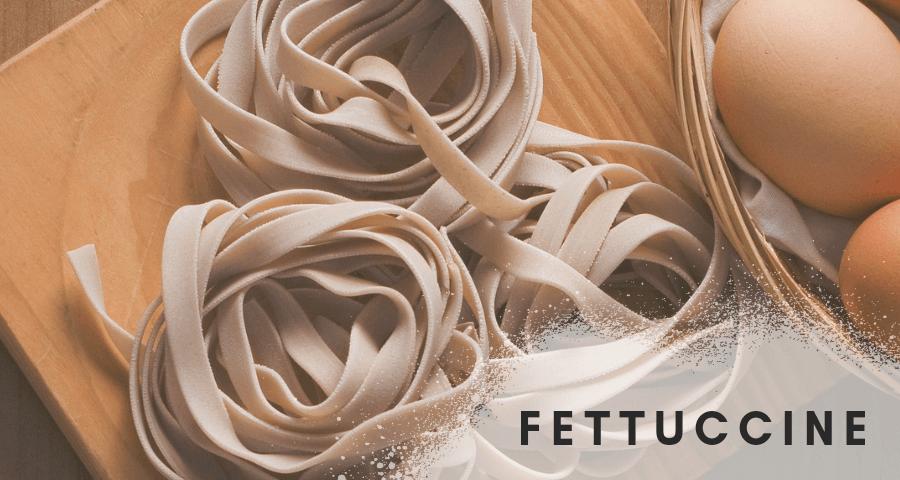 Fettuccine - małe wstążki