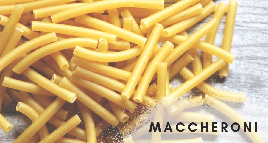 Makaron włoski maccheroni