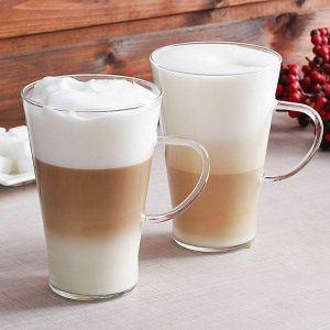 Zestaw szklanek do cafe latte Smooth