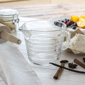 Miarka kuchenna szklana Alornol