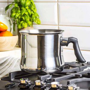 Garnek do gotowania mleka z płaszczem wodnym Milk