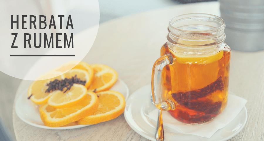 Herbata zimowa z rumem - przepis