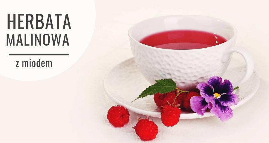 Zimowa herbatka malinowa - przepis