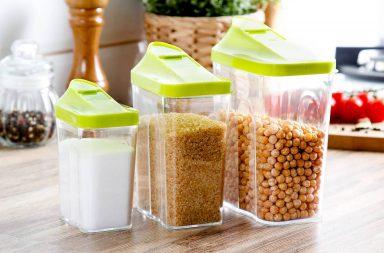 Pojemniki plastikowe na żywność Branq