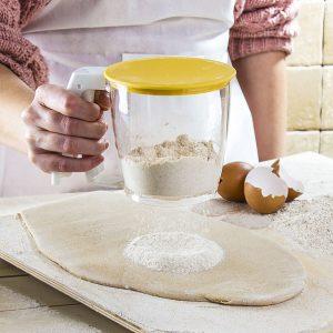 Przesiewacz do mąki i cukru pudru Plast Team