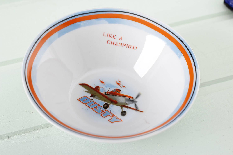 Salaterka ceramiczna Samoloty Dusty