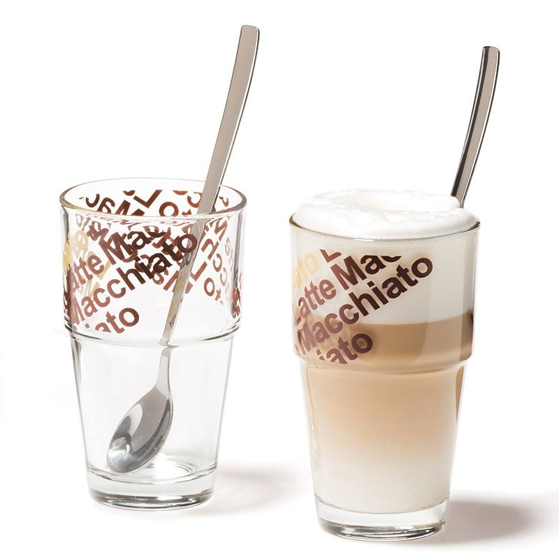 Szklanki do latte macchiato Leonardo