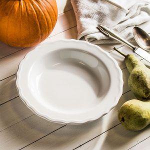 Talerz obiadowy głęboki ceramiczny JULIETTE