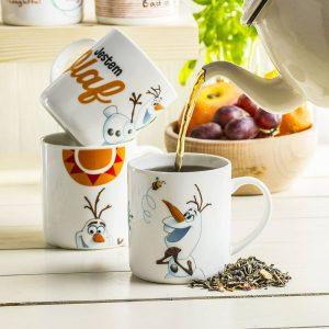 Ceramiczny kubek dla dzieci Kraina Lodu Olaf
