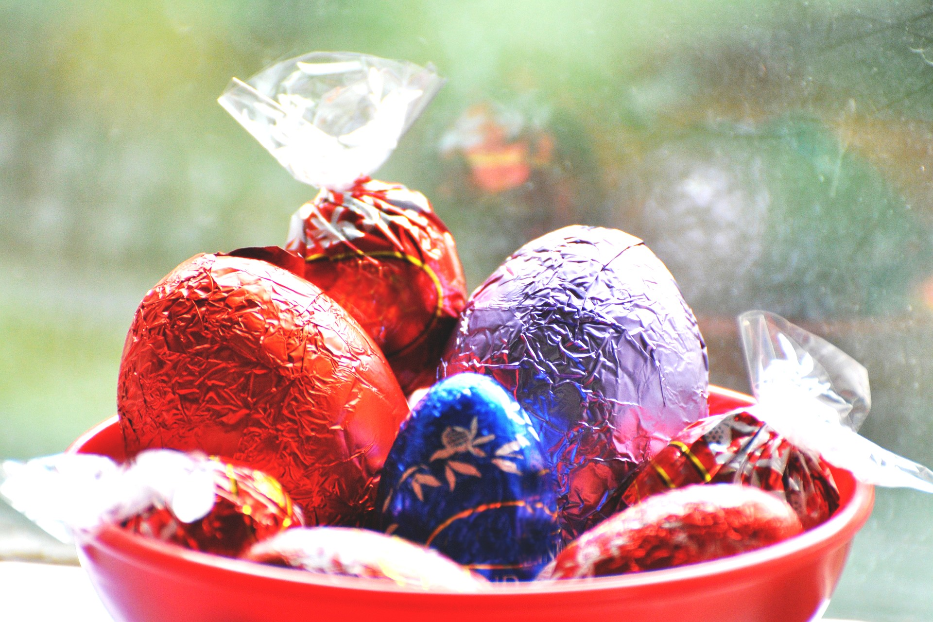 Tradycje wielkanocne - czekoladowe jajka