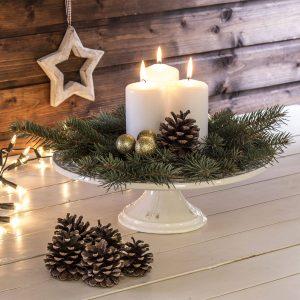 Dekoracja świąteczna na stół