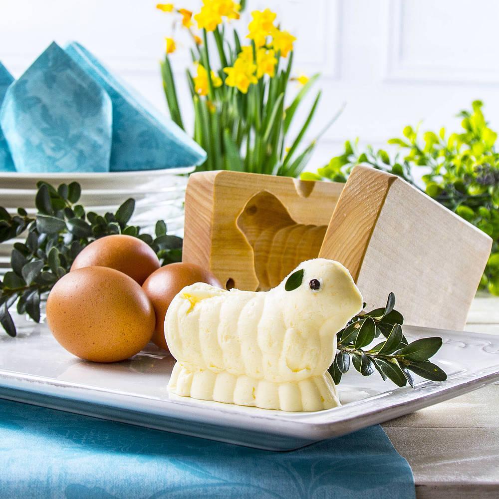 Baranek z masła - przepis podstawowy