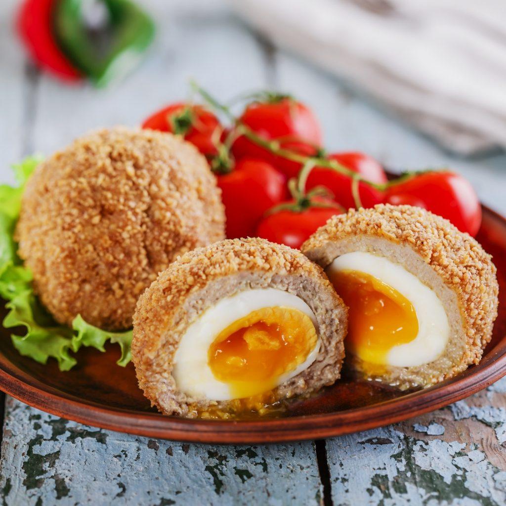 Jajka na Wielkanoc po szkocku