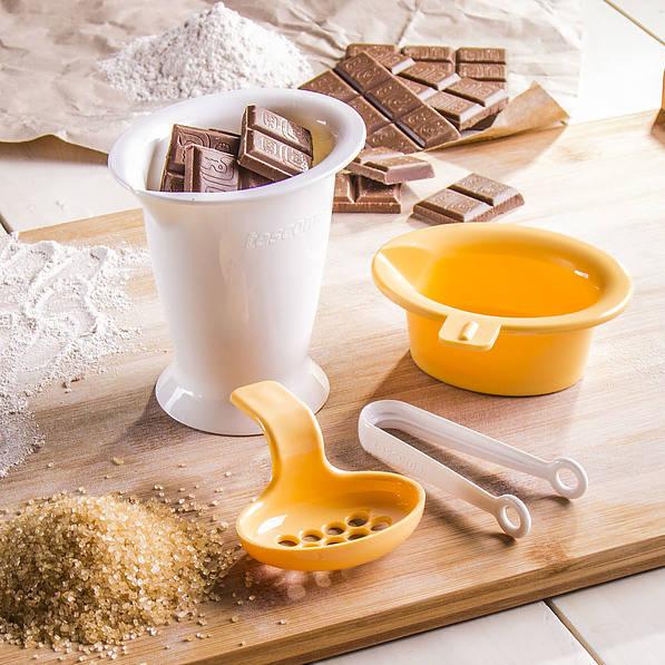Naczynie do rozpuszczania czekolady
