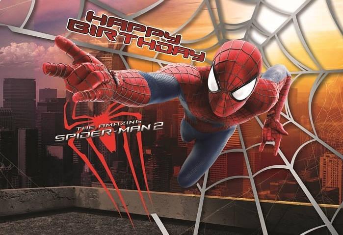 Obrus foliowy dla dzieci Spiderman