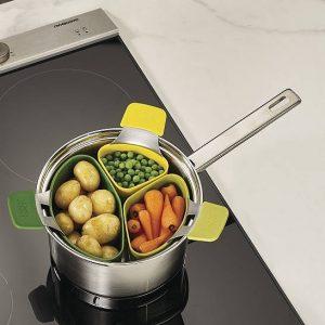 Silikonowy wkład do gotowania na parze Joseph Joseph