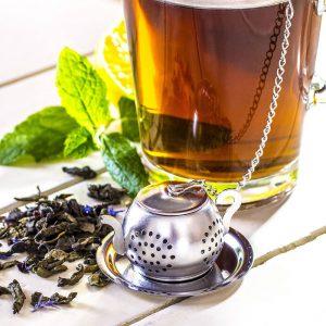 Stalowy zaparzacz do herbaty Imbryczek