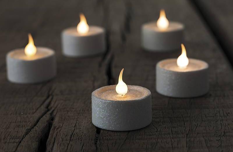 Świeczki na imprezę tealight led Sirius
