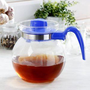Szklany dzbanek do herbaty Termisil