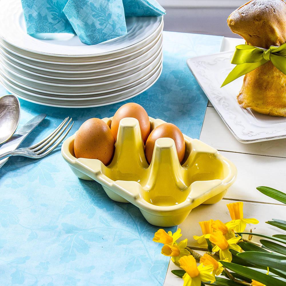 Talerz do jajek wytłaczanka