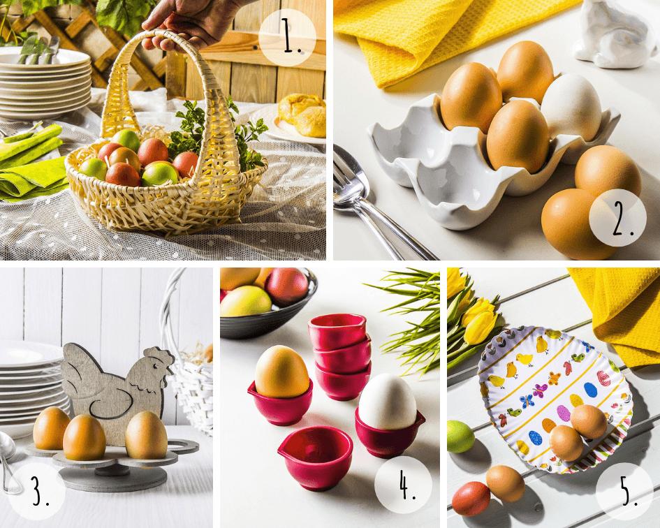 Akcesoria wielkanocne do jajek