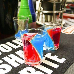 Zestaw kieliszków do wódki Twister Shots