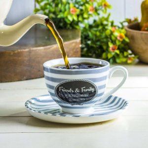 Filiżanka porcelanowa do herbaty Friends and Family
