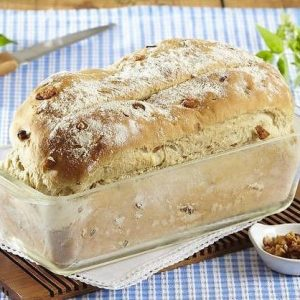 Keksówka szklana do wypieku chleba Simax