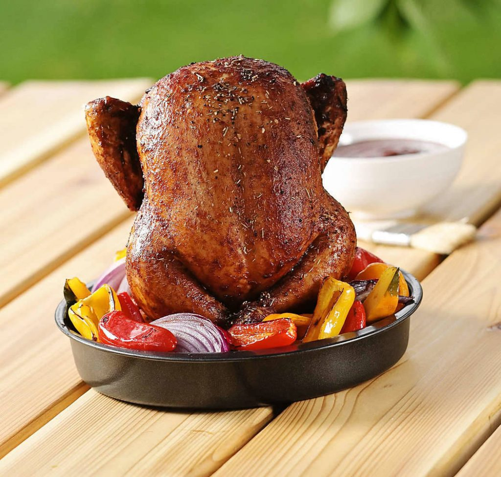 Stojak do pieczenia kurczaka Nordic Ware