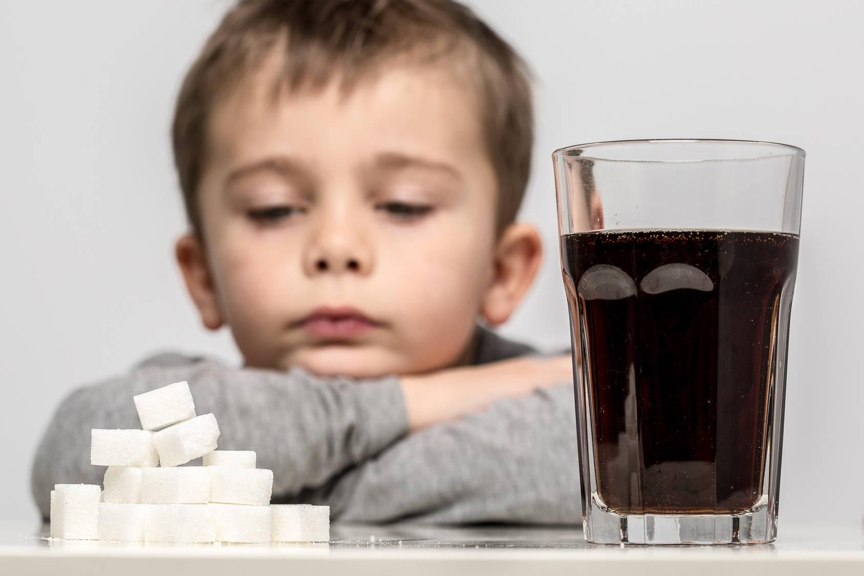 Wpływ cukru naorganizm dziecka