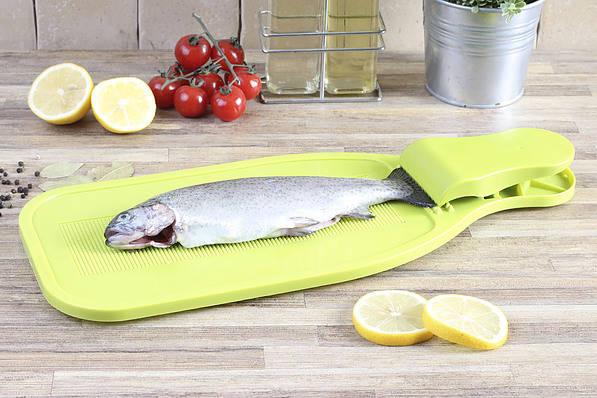 Deska do oprawiania i skrobania ryb Practic