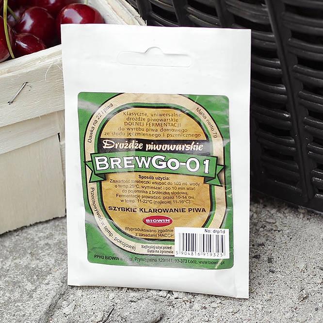 Drożdże piwowarskie Brewgo