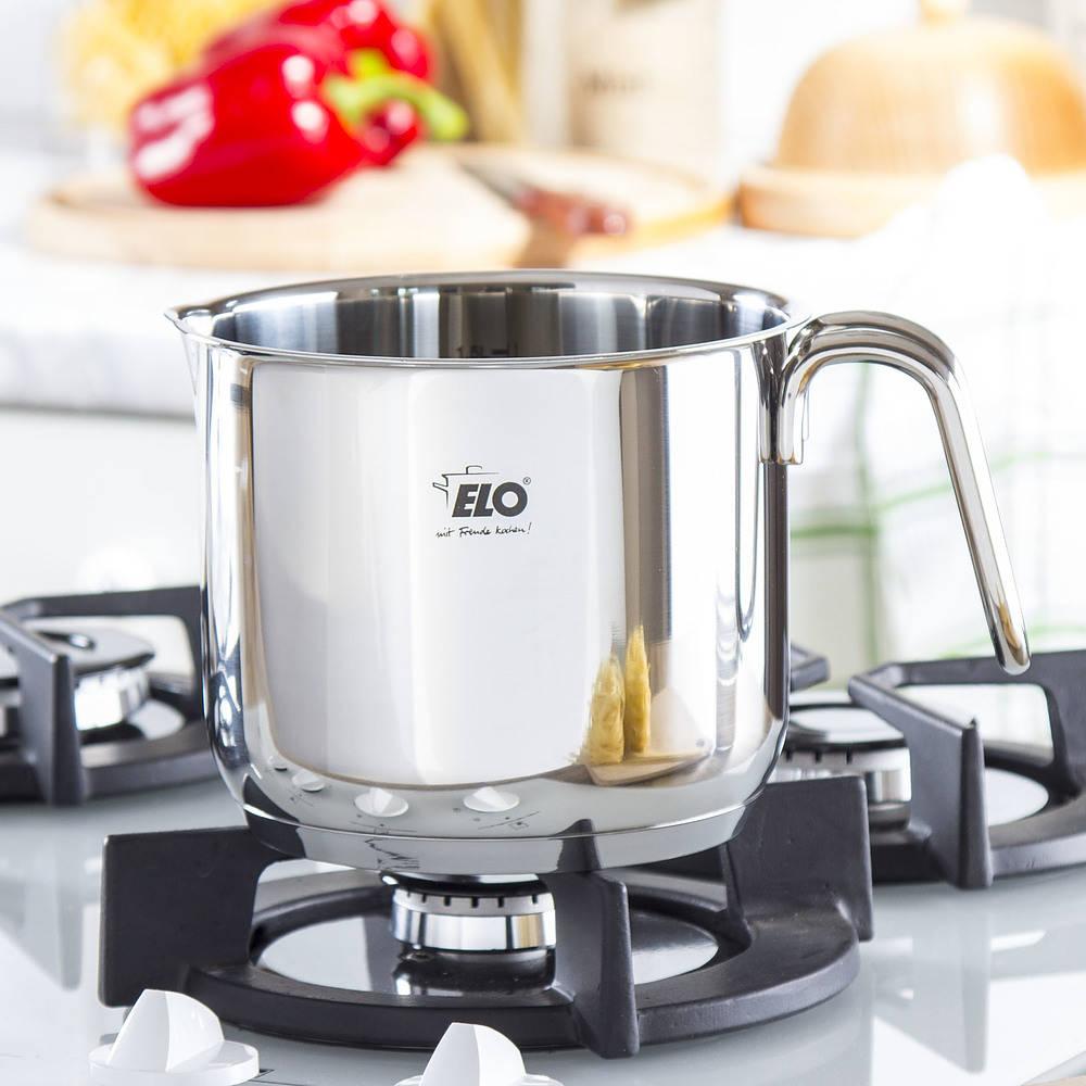 Garnek do gotowania mleka Elo
