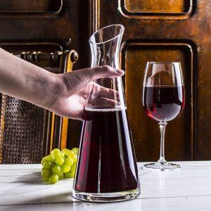 Karafka do wina szklana