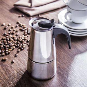 Kawiarka stalowa ciśnieniowa