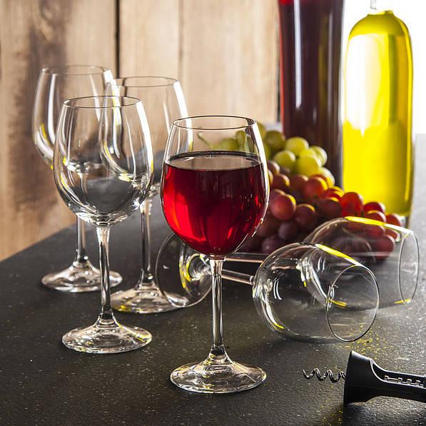 Kieliszki do wina czerwonego szklane Bormioli Rocco