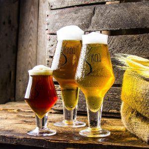 Pokale do piwa kraftowego Frela