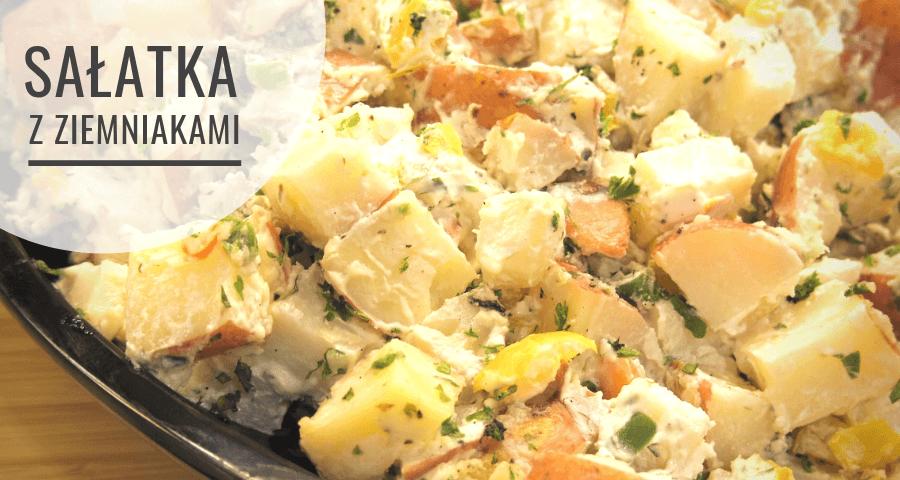 Koperkowa sałatka na grilla z ziemniakami - przepis