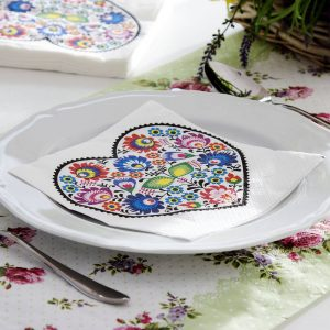 Serwetki dekoracyjne Łowicz