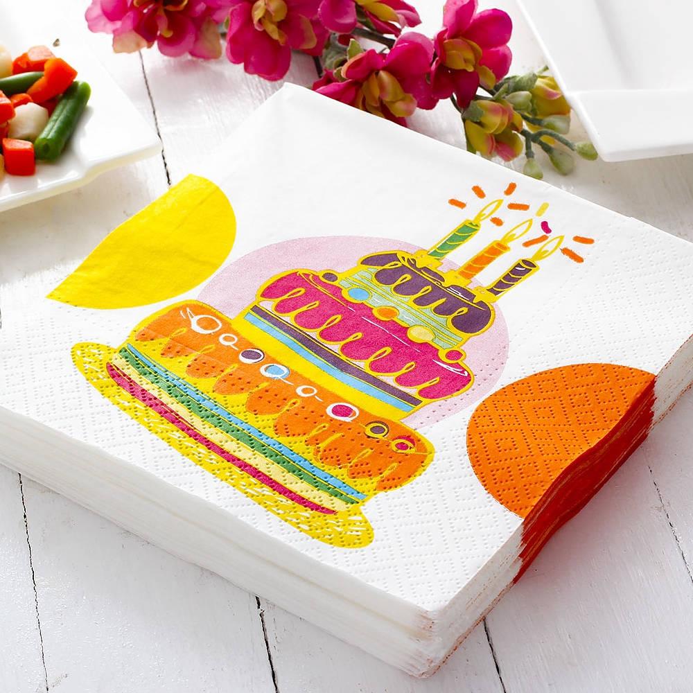 Serwetki papierowe tort