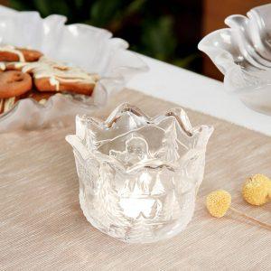 Świecznik szklany Walther