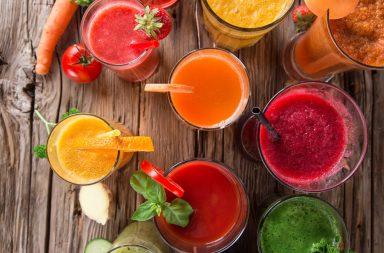 Świeżo wyciskane soki warzywno owocowe