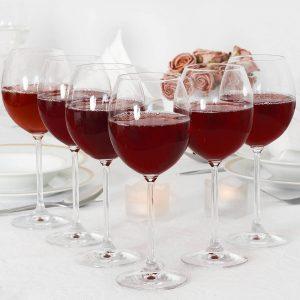 Kieliszki do wina czerwonego Krosno