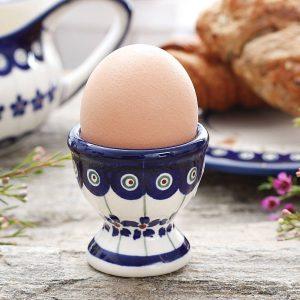 Kieliszek do jajek ceramiczny Bolesławiec