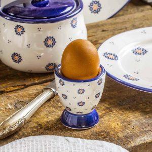 Kieliszek do jajek ceramiczny Folklor