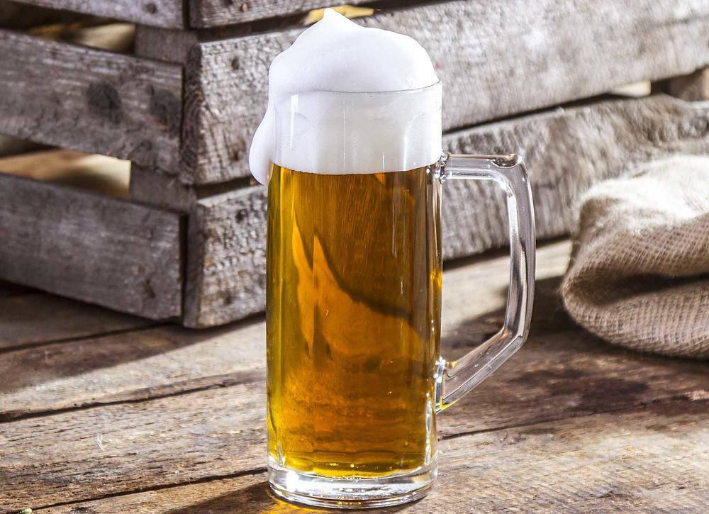 Kufel do piwa szklany Ceramika Tułowice