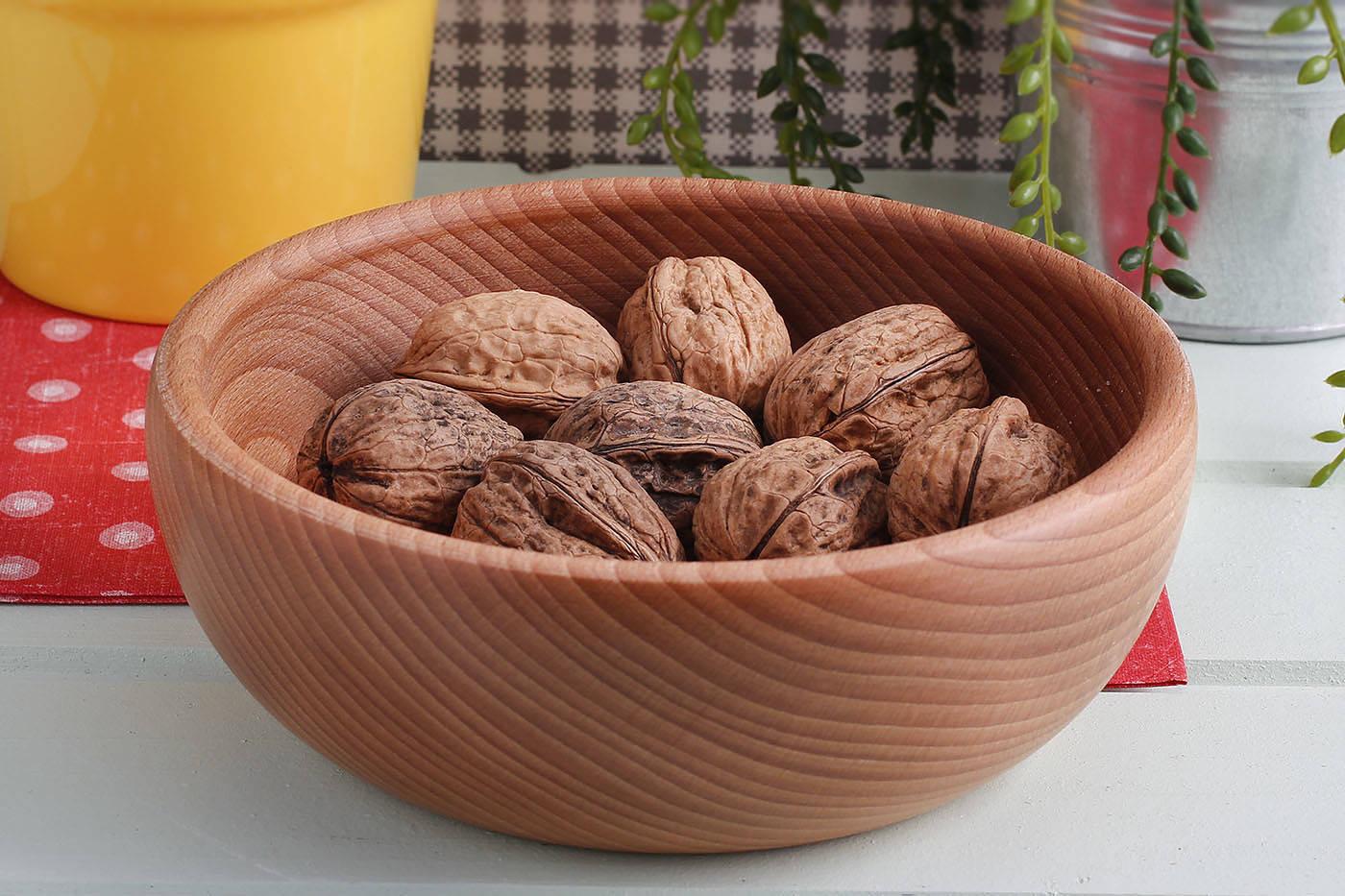Miska salaterka drewniana